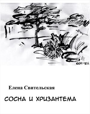 Сосна и хризантема
