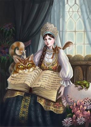 Михайлина-искусница и Змей Лютый