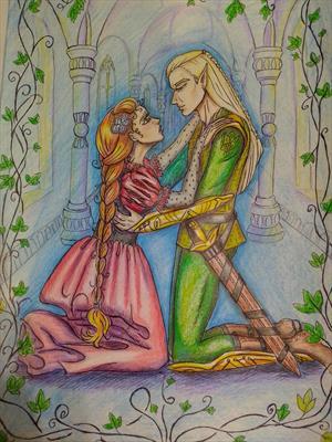 «Повесть о рыжеволосой красавице и эльфийском принце»