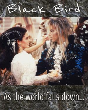 As the world falls down...