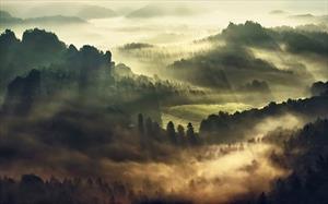 Домик в холмах