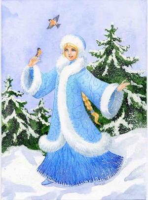 Снегурочка рождества