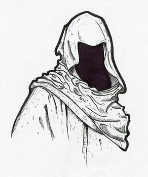 Мрачный скиталец .