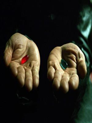 Красная или синяя?