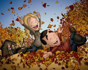 Счастливая осень