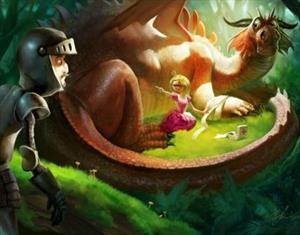 Сказка о том, как дракон экзамен на профпригодность сдавал