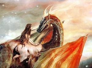 Письмо дракону от принцессы